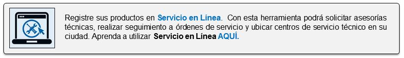 Servicio en Línea