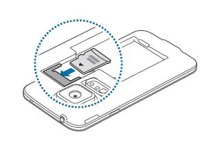 Samsung Galaxy S5, Speicherkarte einlegen, Schritt 2, Speicherkarte einlegen