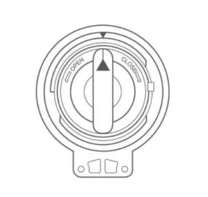 Fremdkörperfalle einer Samsung Waschmaschine reinigen, Schritt 8, Kappe der Fremdkörperfalle anbringen.