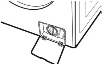 Fremdkörperfalle einer Samsung Waschmaschine reinigen, Schritt 10, Wiedereinsetzen der  Fremdkörperfalle.