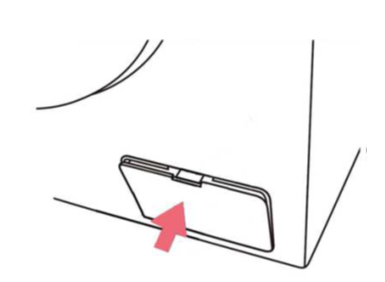 Fremdkörperfalle einer Samsung Waschmaschine reinigen, Schritt 11, Abdeckung der  Fremdkörperfalle.