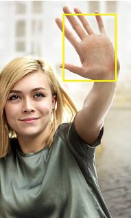 Samsung Galaxy S6 (edge/edge+), Selfies aufnehmen über Gestensteuerung