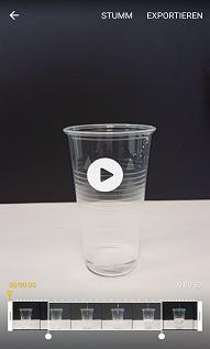Samsung Galaxy S6 (edge) Videos im Zeitlupen-Modus aufnehmen, Vorschau des Videos anzeigen