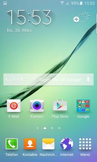 Wie kann ich die NFC-Funktion meines Galaxy S6 (edge) für Zahlungen verwenden?