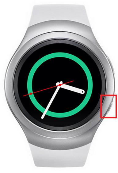 Samsung Gear S2/Gear S2 classic, Tastenverwendung, Home-Taste