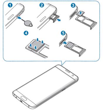 So legen Sie Ihre SIM Karte in ein Samsung Galaxy S7 richtig ein