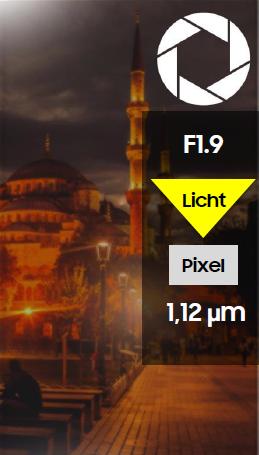 Bildqualität auf einem Samsung S6 Smartphone, Vergleich