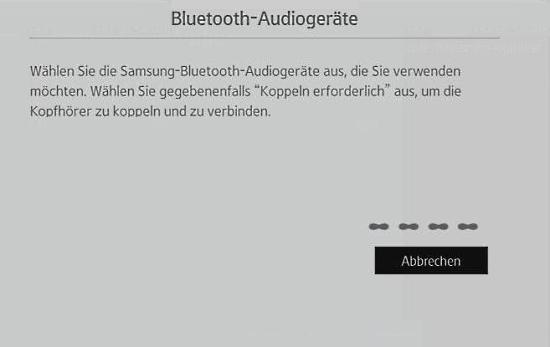 Blueetooth-Kopfhörer für Samsung-Smart TV auswählen