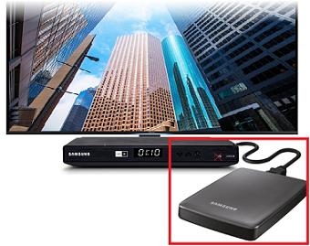 Externe Festplatte an Samsung Digitalreceiver anschließen