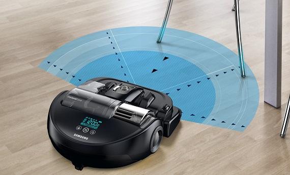 Samsung Saugroboter POWERbot VR9200, intelligente Raumnavigation