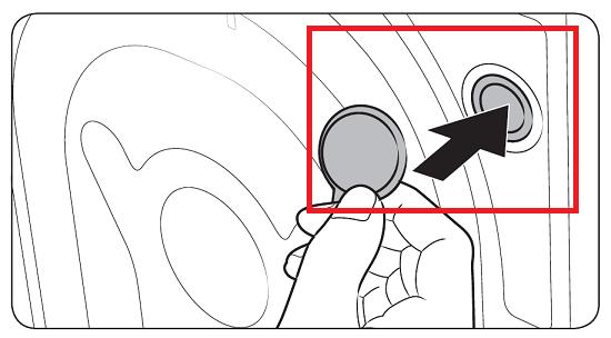 Transportsicherung bei Samsug Waschmaschine entfernen und Aussparrungen verschliessen