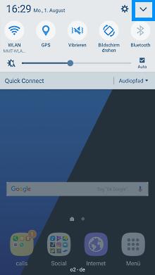 Flugmodus auf Smartphone mit Android 6.x Marshmallow aktivieren, Schritt 1