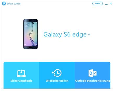 Samsung Smartphone Daten mit Smart Switch sichern, Sicherungskopie