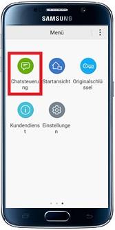 Waschmaschine über Samsung Smart Home App steuern, mit Chatfunktion
