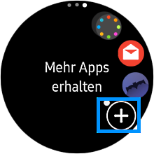 Spotify auf einer Samsung Gear S3 anwenden, mehr Apps erhalten