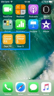 Samsung Gear mit iPhone verbinden, Gear Fit und Gear S