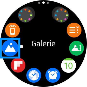 Medien zwischen Smartphone und Samsung Gear S3 übertragen, Galerie