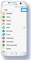 Samsung Gear S3 (classic/frontier), App Verwaltung