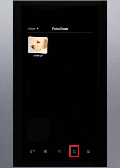 Whiteboard-Funktion von einem Samsung Kühlschrank Family Hub, Fotoalbum