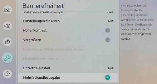 Smart TV Bluetooth-Kopfhörer nutzbar machen