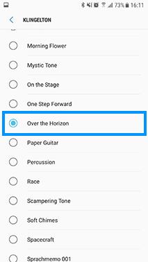 Samsung Galaxy S7 (edge) Klingeltöne, Benachrichtigungstöne und Lautstärke ändern