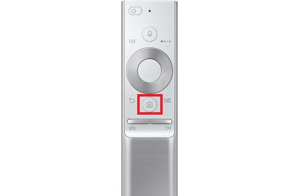 Blu-ray-Player oder eine Spielekonsole an Samsung QLED TV anschließen