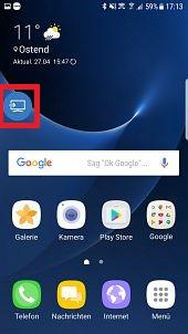 Samsung Smart View mit QLED Smart TV verwenden