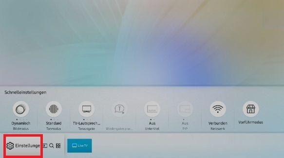 Samsung QLED Smart TV, Samsung-Konto erstellen