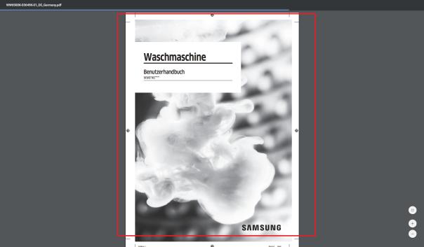 Samsung Produkt, Bedienungsanleitung herunterladen, Dokument öffnen