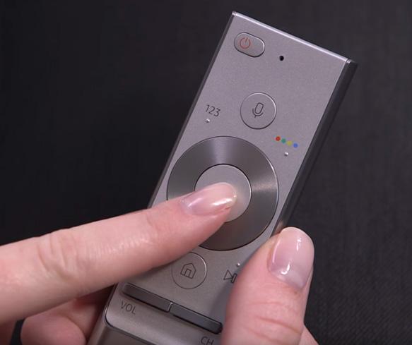 Navigation mit der Smart remote