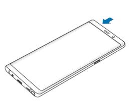 SIM und Speicherkarte in Samsung Galaxy Note8 einsetzen, Kartenhalter