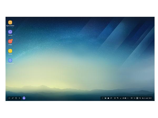 Samsung DeX Station einrichten, Schritt 5
