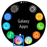 Wie kann ich Apps auf der Samsung Gear Sport installieren?