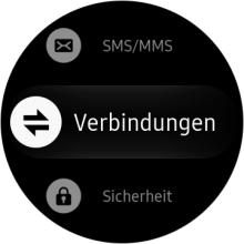 Wie kann ich das GPS auf der Samsung Gear S3 classic/frontier aktivieren