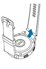 Wie kann ich das Armband meiner Gear Sport wechseln?
