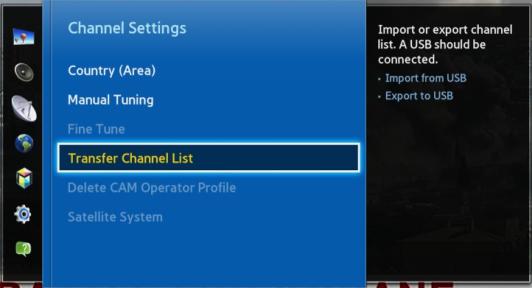 Edasta kanalite nimekiri (Transfer Channel List)