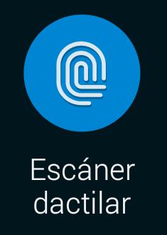 escáner dactilar