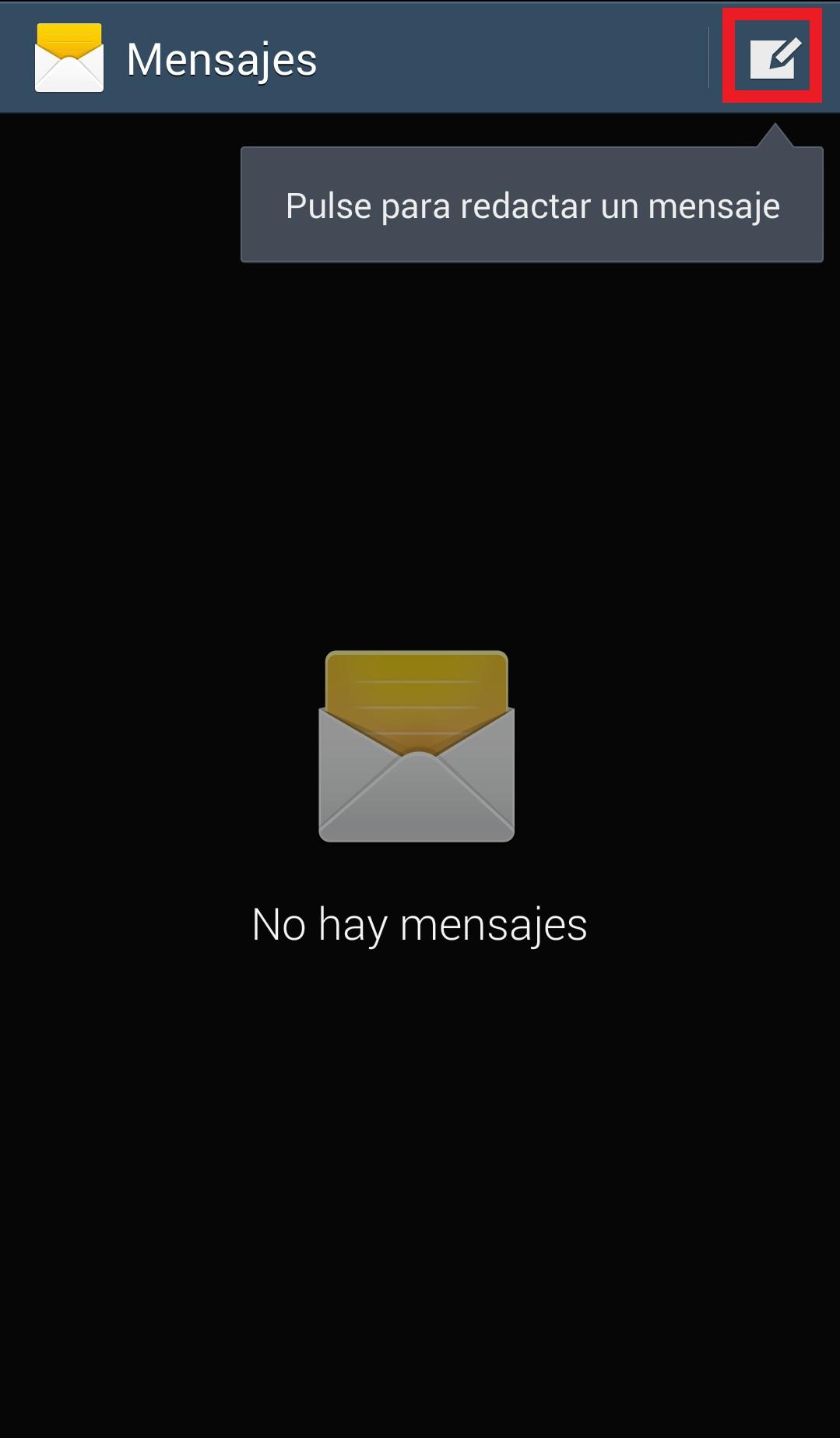 Redactar SMS