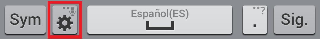 parte baja teclado