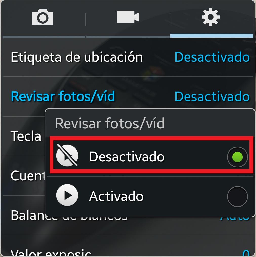 Desactivado