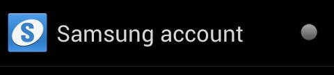 cuenta Samsung