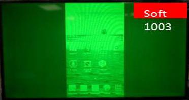 Die Screen-Mirorring-Funktion hat einen starken Grünstich nachdem ein Scart-Anschluss des Fernsehers benutzt wurde