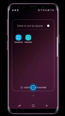 Pour ajouter encore des applications, appuyez sur « Ajouter des Applications »