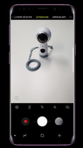 Comment utiliser le mode « Mise au point Selfie » sur mon Galaxy S9/S9+ ?