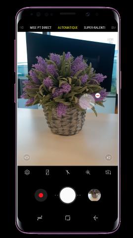 Comment ajouter un autre déclencheur à l'appareil photo de mon Galaxy S9, S9+ ?
