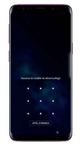 Pourquoi le fond d'écran par défaut de mon Galaxy S9/S9+ change-t-il ?