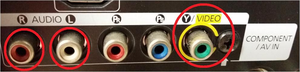 AV線如何連接電視?