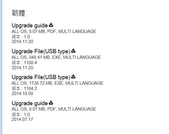 如何用 USB 升級 SMART TV 的韌體 (firmware)?