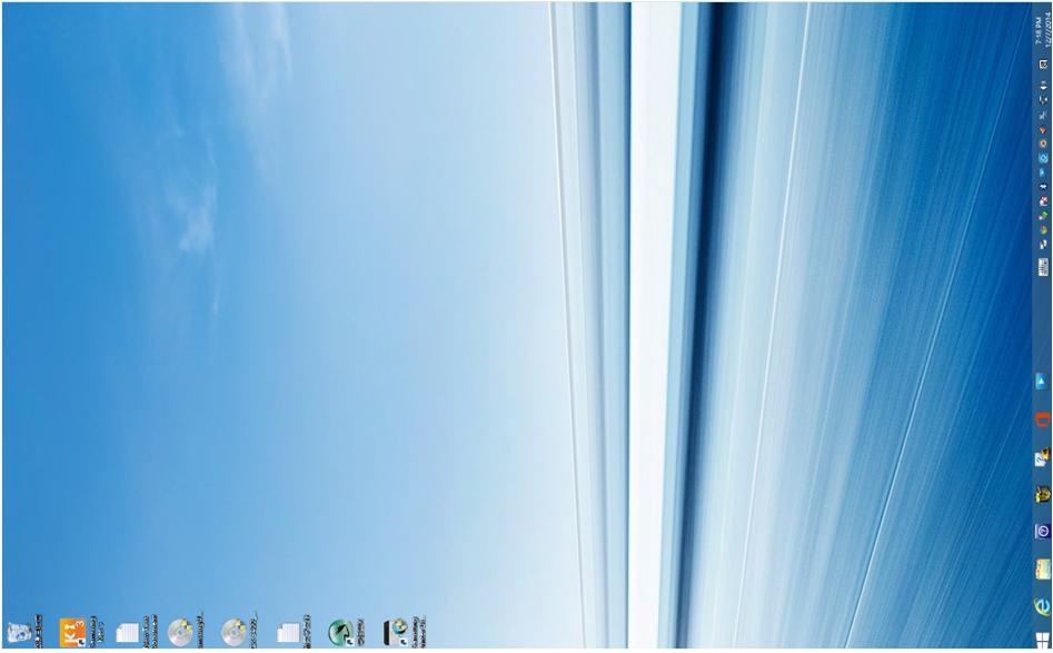 如何把倒轉的 Windows 桌面, 調較回到正常顯示?