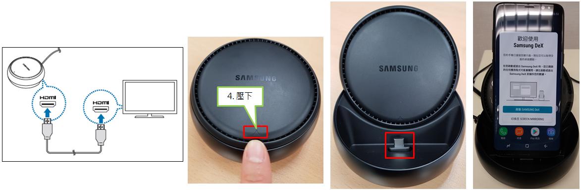 如何使用Galaxy S8的Samsung DeX功能?